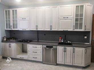 Кухня с пленочным фасадом